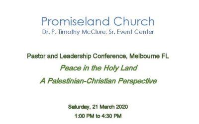 Pastor and Leadership Conference, Melbourne FL