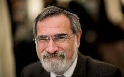 Remembering Lord Rabbi Jonathan Sacks …